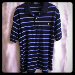 Mens 3XB Polo By Ralph Lauren Classic Striped Polo